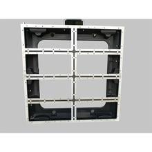 640x640mm moulage sous pression en aluminium vide armoire P5/P10 intérieur affichage led extérieur écran p5 vide armoire panneau location