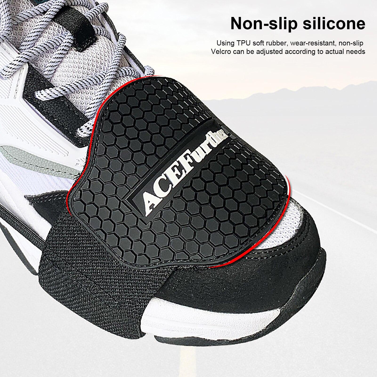 1 шт. Новая мотоциклетная обувь, защитный, для езды на мотоцикле Шестерни переключения мужские туфли Сапоги протектор переключения, носки по...