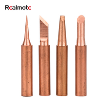 Solder-Stations-Tool 900M Nozzle-Head Electric-Welding-Iron Pure-Copper Ce 6pieces Internal-Heating