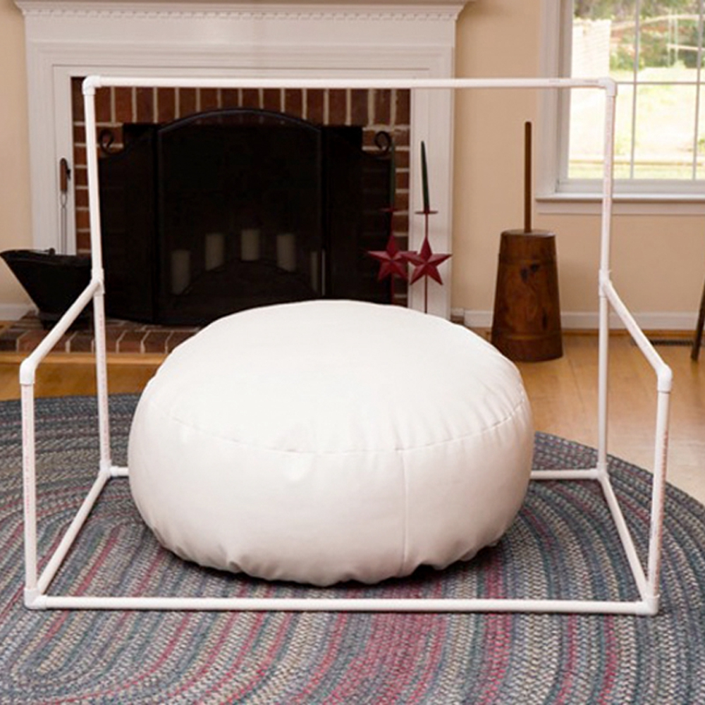 Newborn Photography Background Stand PVC Pipe Booth Baby Photo Shoot For Studio Flokati Baby Photography Props Basket Accessorie