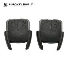 Per Chevrolet GM 2 pulsanti telecomando solo Shell anteriore AutokeySupply AKGMS235