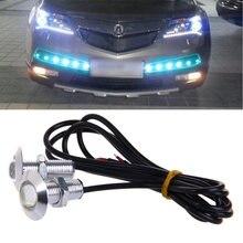 1 пара Автомобильные светодиодные дневные хосветодиодный вые