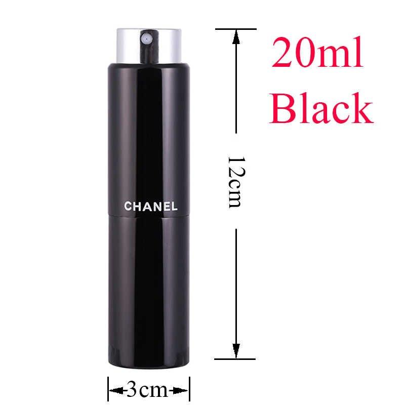 5-20ML metall aluminium Tragbare Nachfüllbar Parfüm Flasche Kosmetische Container Leere Spray Zerstäuber Reise Sub-Flasche liner glas