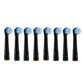 Replacement Toothbrush Heads For Oral-B Braun Toothbrush Heads Vitality Precision Clean/Trizone Soft Bristle Black YE628