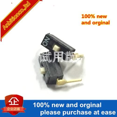 10pcs 100% New Original 1 DIP Switch DSIC01LHGET 2.54 Black In Stock
