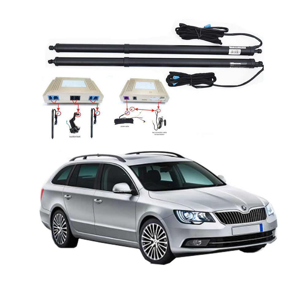 New Electric Tailgate Refitted For SKODA SUPERB 2016 -Tail Box Intelligent Electric Tail Door Power Tailgate Lift Lock