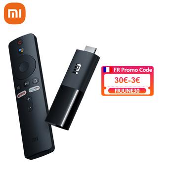 Globalna wersja Xiaomi Mi TV Stick Android TV 9 0 4-core 1080P HD podwójne dekodowanie 1GB pamięci RAM 8GB ROM asystenta Google Netflix Wifi 5 tanie i dobre opinie Brak CN (pochodzenie) RK3318 Quad-kor 8 GB eMMC HDMI 1 4 1G DDR3