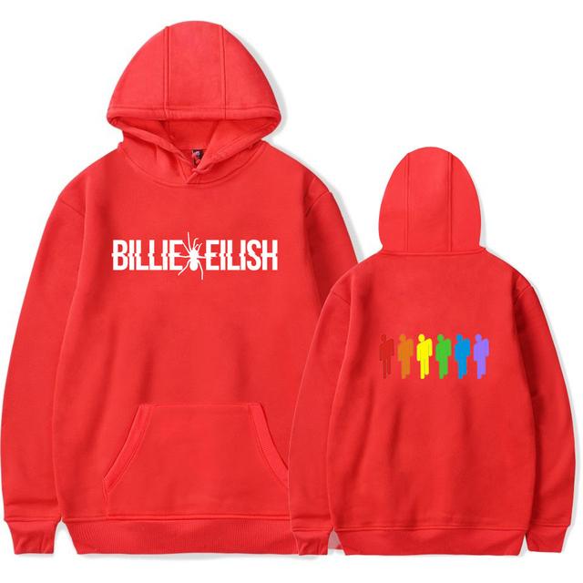 BILLIE EILISH HOODIE (6 VARIAN)