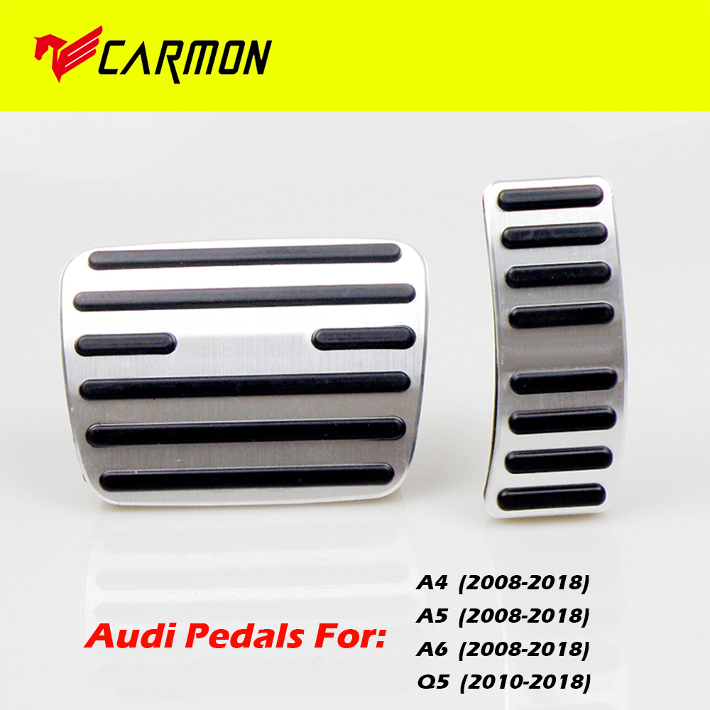 for Mazda CX 5 No Drill Non-Slip Performance Car Rest Pedal Brake and Gas Pedal Covers Accessories Replacement Pedal Aluminum Alloy Pedals Set MT 4Pcs