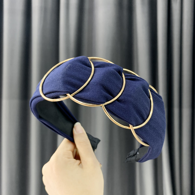 Chen Yan Fashion Print Headbands New Girl Headband Knot Cross Hairband FG 10