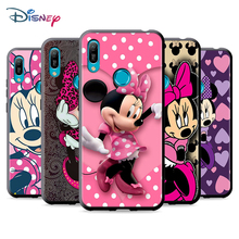 Black Soft Minnie Mouse For Huawei P Smart 2021 2020 Z S Mate 40 RS 30 20 20X 10 Pro Plus Lite 2019 Phone Case