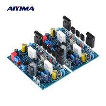 AIYIMA 1 çift güç amplifikatörü kurulu 100Wx2 Amplificador IRF240 FET sınıf A güç amplifikatörü ses kartı Amp ev ses sineması