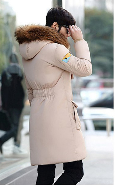 Winter Parka For Women New Long Slim Coats Female 90% White Duck Down Winter Jaclets Large Fur Collar Mujer LX388
