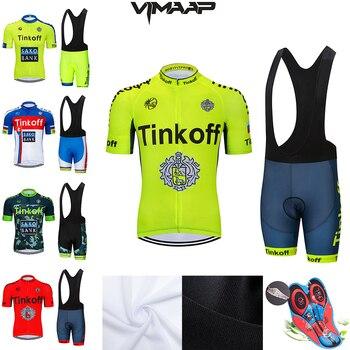 ¡Venta directa de fábrica! SaxoBank Tinkoff ciclismo Jerseys traje/ciclismo ropa de secado...