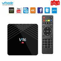 Vmade Mini Set TV Box Android 9.0 WIFI Allwinner H6 Quad Core 2GB 16GB H.265 4K IPTV Google TV Netflix Media Player Top Box