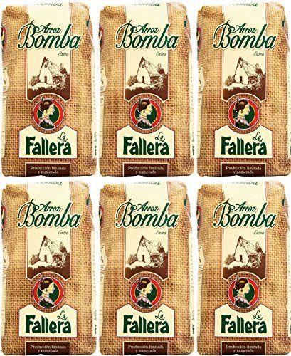La Fallera - Bomba Di Riso Alla Paella 1 Kg. - [Pack 6]