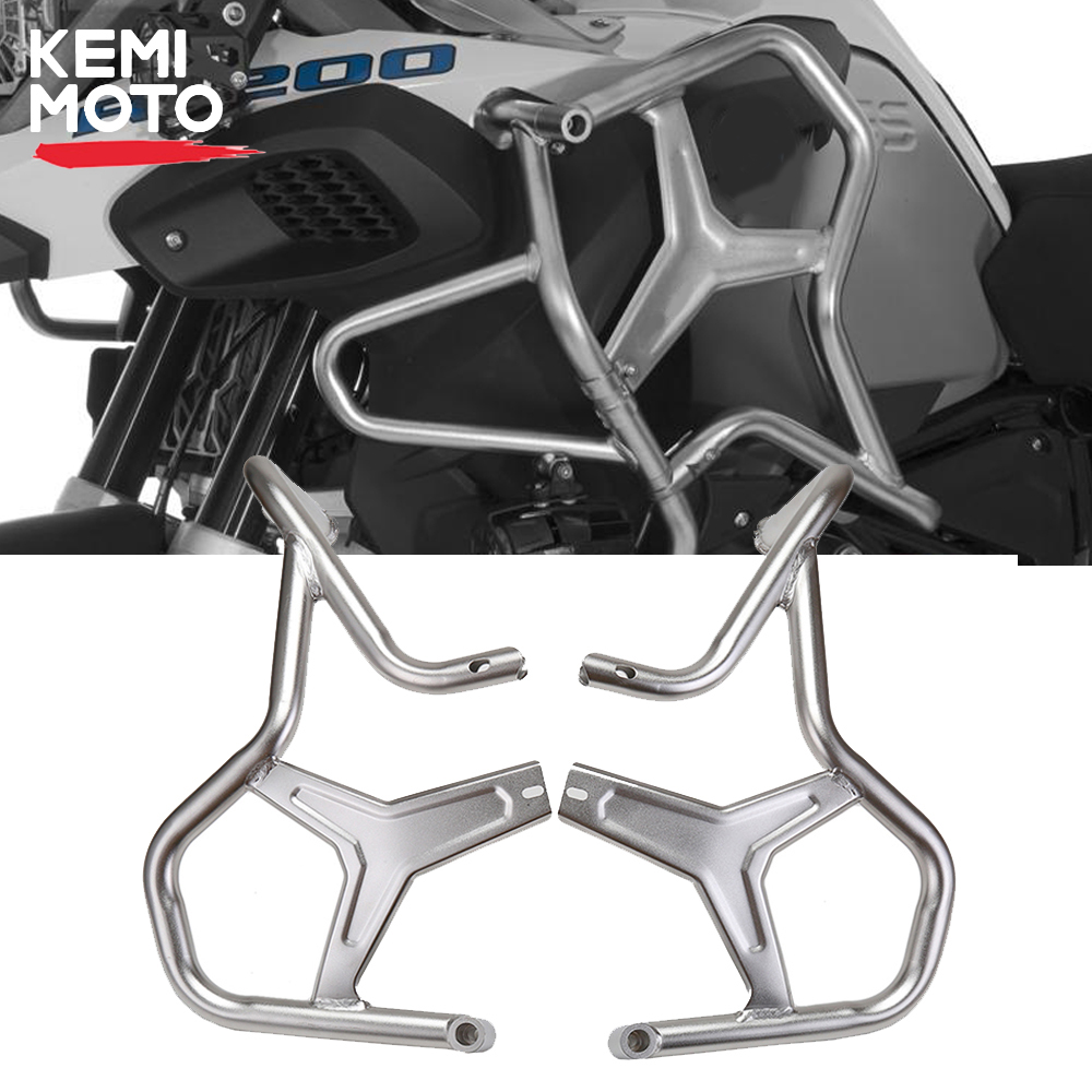 2019 R1200GS LC ADV Upper Crash Bar Extensions For BMW R1200GS ADV Adventure water cooled 2014 2015 2016 2017 2018 Engine GuardCovers & Ornamental Mouldings   -