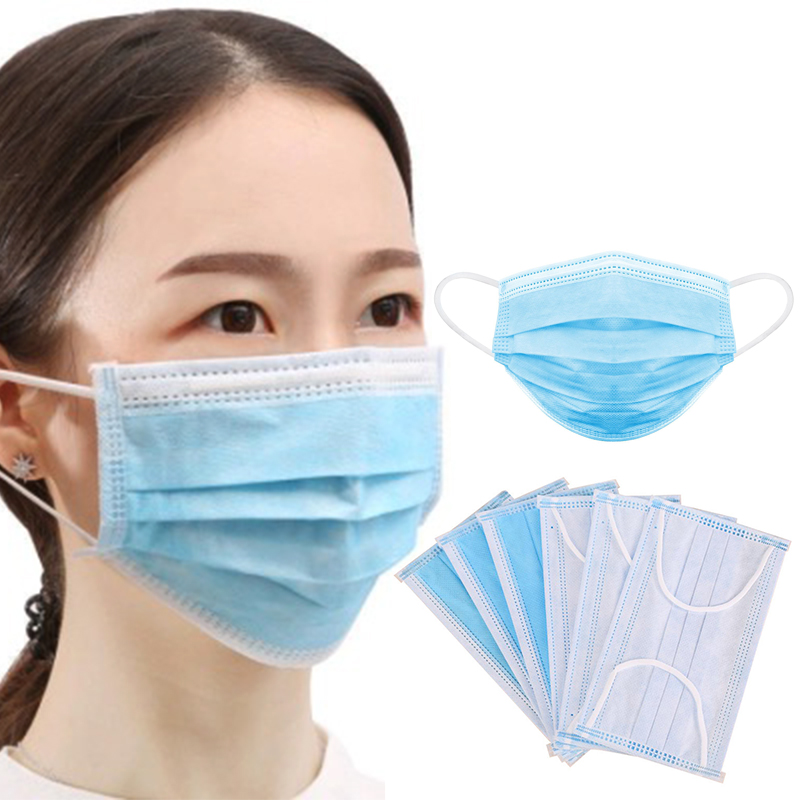 Mouth Mask 50PC Health Care Random Color Anti Dust Mask Mouth-muffle Bacteria Proof Flu Face Masks Filter Anti Virus