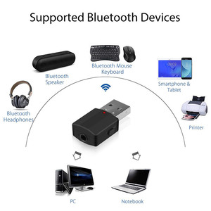 Image 3 - KEBIDU بلوتوث 5.0 استقبال الارسال ستيريو بلوتوث محول صغير 3.5 مللي متر AUX الصوت RCA ل TV PC سيارة عدة محول لاسلكي