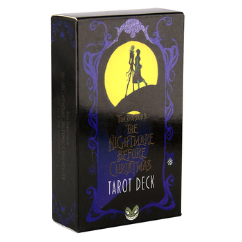 The Nightmare Before Christmas Tarot Deck and Guidebook 78 Cards Deck and Card Game Board Game Divination Tell the Future TOY 12