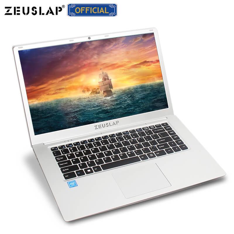 ZEUSLAP Quad Core CPU 64GB 10 System Netbook