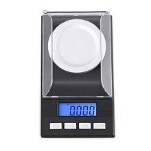 Digital Milligram Scale 100g/ 0.001g Portable Micro  Jewelry Scale LCD Backlit E7CB