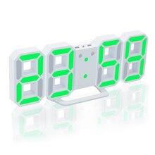 Alarm Table-Clock Display-Watch Temperature-Display Calendar Digital Wall-Hanging LED