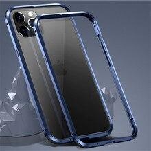Metalen Bumper Case Voor Iphone 12/Iphone 12 Pro/12 Mini/Iphone 12 Pro Max Gevallen Luxe airbag Anti Fall Aluminium Telefoon Case