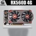 Видеокарта VEINIDA Radeon Rx560D GPU 4 ГБ Gddr5 128 бит Pci Express 3 0 Directx12 видеоигры для рабочего стола