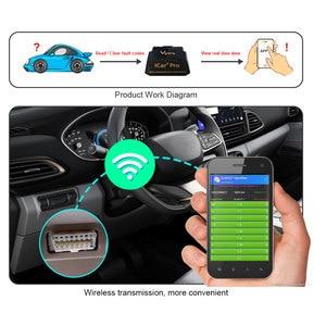 Image 3 - Vgate Icar Pro OBD2 Ferramentas Scanner Gereedschap Elm 327 Wifi V2.1 Ios Android Auto Diagnostische Scanner Code Reader Obdii Protocollen