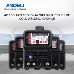ANDELI TIG-250PL AC DC Smart  Pulse Cold Welding Machine TIG Aluminum with Aluminum Alloy TIG Welding Machine