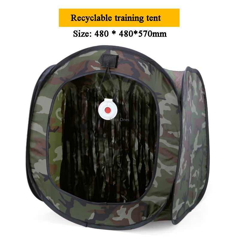 Tactical Tent Portable Camouflage Training Hunting Shooting Targets Airsoft Paintball Foldable BB Bullet Slingshot Target Box