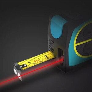 Image 4 - 2020 Youpin Laser Tape Measure 2 in 1 Digital Optical Range Finder with LCD Digit Display Magnetic Hook Rangefinder