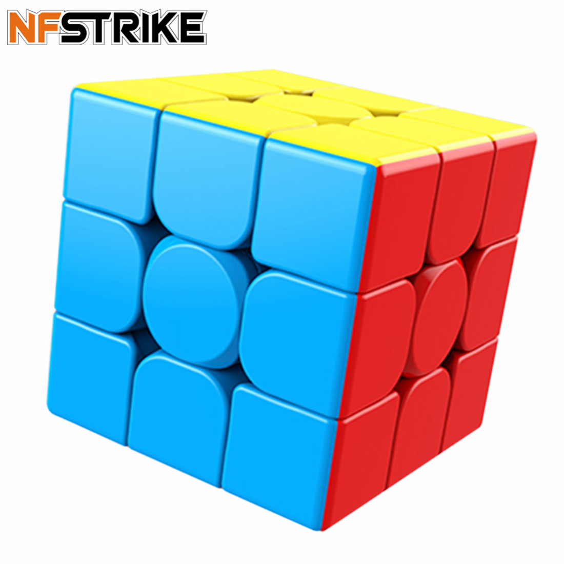 Moyu MeiLong MF8841 3-Layer Magic Cube Puzzle For Kids Adults Small Gifts 2019- Colorful