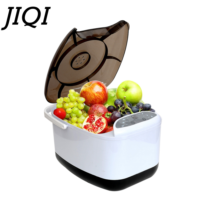 JIQI Fruit Vegetable Washing Machine Purifier Household Automatic Cleaning Ingredients Ozone Disinfection Of Berry Harvester