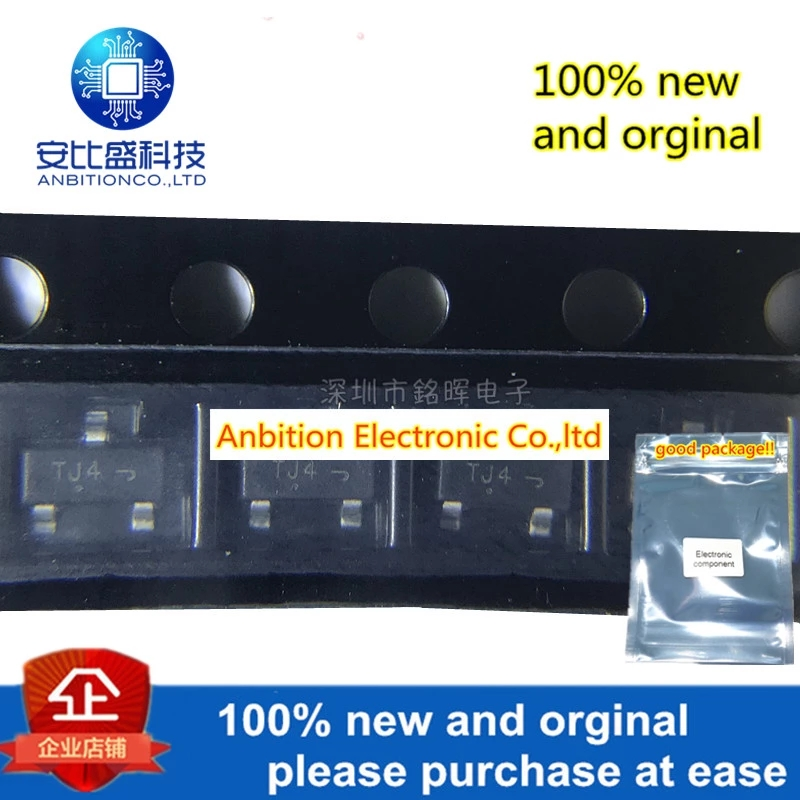 10pcs 100% New And Orginal NTR5103NT1G Silk-screen TJ4 SOT23 N 60V 310mA In Stock