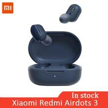 Xiaomi-auriculares inalámbricos Redmi AirDots 3, por Bluetooth 5,2, aptX, estéreo, con micrófono, manos libres, TWS