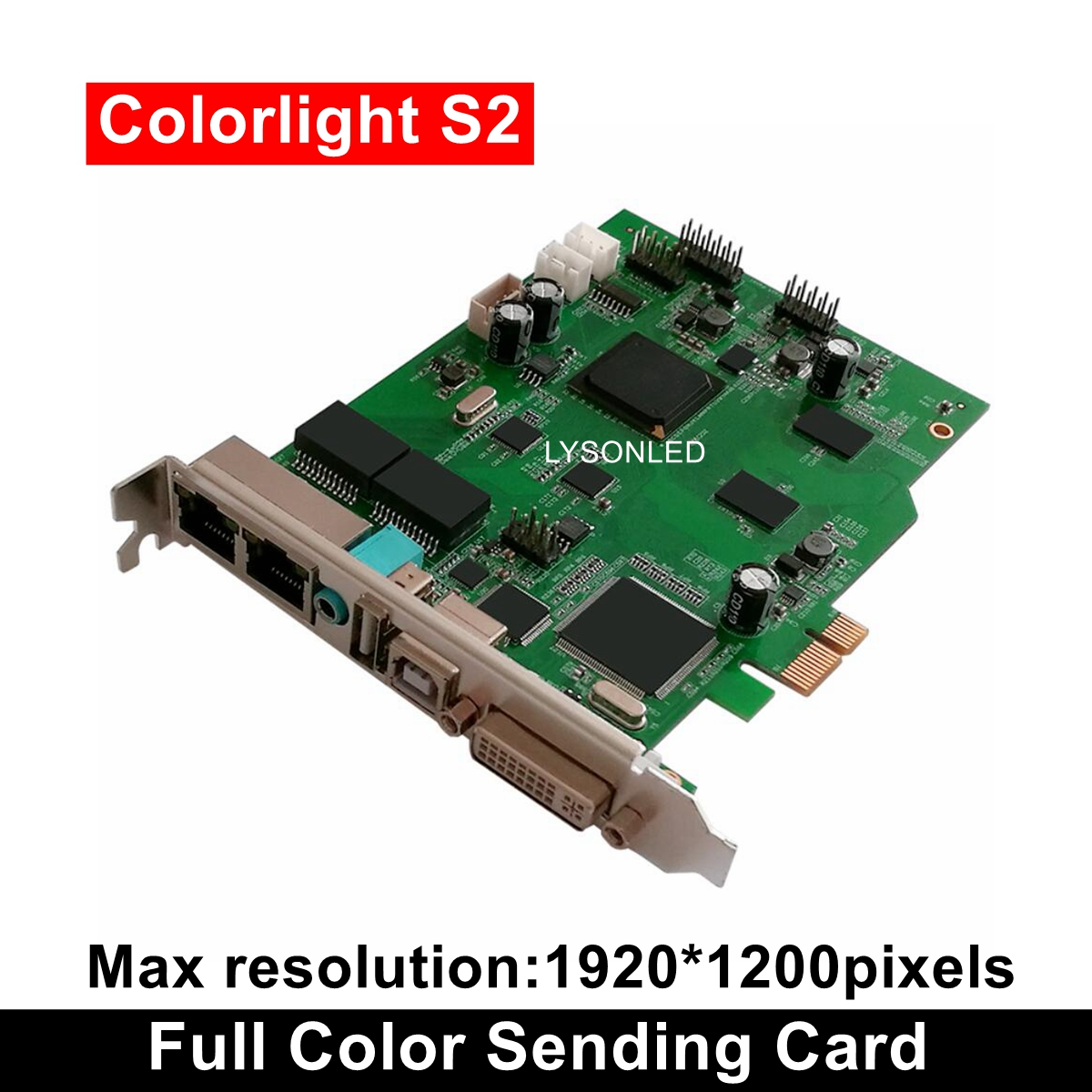 Colorlight Synchronization S2 Sending Card For Full Color LED Video Display LedVision Software