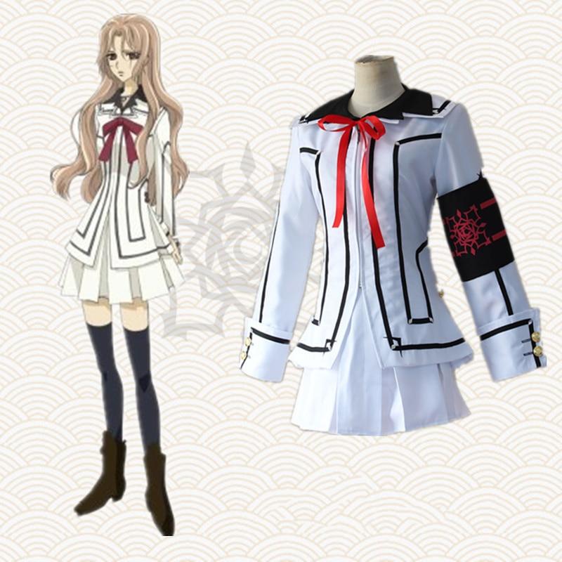 Anime Vampire Knight Cosplay Costumes Ruka Souen Costume Uniforms Halloween Party Women Game