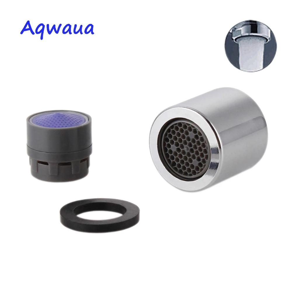 aqwaua water saving faucet aerator 18mm female thread 4 6l min spout bubbler filter attachment on crane bathroom accessories