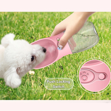 Portable Pet Dog Water Bottle For Small Large Dogs Travel Puppy Cat Drinking Bowl Outdoor Pet Water Dispenser Feeder Pet Product portable pet dog water bottle for dogs travel cat drinking bowl outdoor pet water dispenser feeder pet product 1pcs