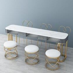 Ins Nordic Net Roten Nagel Tisch Einzigen Doppel Drei Schmiedeeisen Nagel Tisch Nagel Stuhl Tisch und Stuhl Set