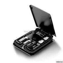 Çok fonksiyonlu evrensel LED ışık USB tipi C taşınabilir veri kablosu adaptör kartı Dropship