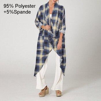 Plus Size Women Tops and Blouse 2021 Celmia Autumn Vintage Long Blouses Casual Cowl Neck Long Sleeve Asymmetric Party Blusas 5XL 18