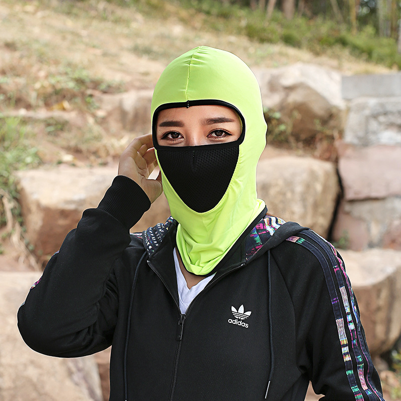 1pc Breathable Mouth Area Men Women Unisex Face Mask Fashion Balaclava Outdoor Cycling Climbing Face Mask Balaclava Mask Cover