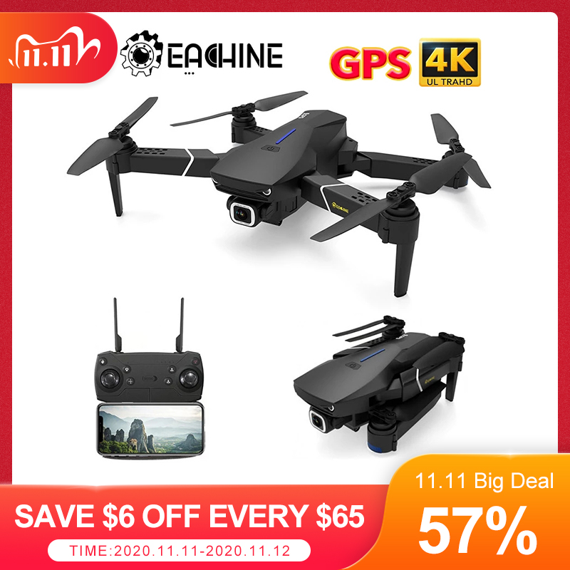 Eachine E520S RC Quadcopter Drone Helicopter with 4K Profesional HD Camera 5G WIFI FPV Racing GPS Wide Angle Foldable Toys RTF|RC Quadcopter| - AliExpress