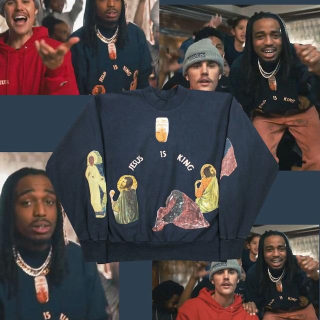 Kanye West  Streetwear Pullovers Bieber Sweatshirts  2
