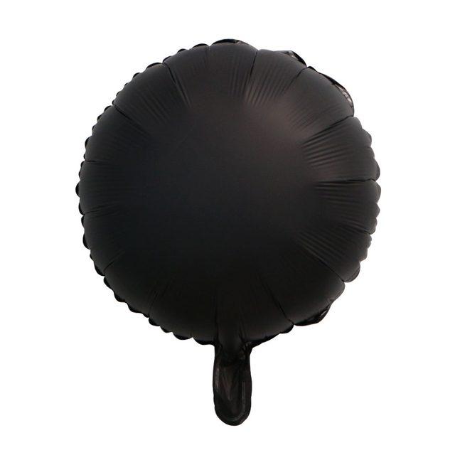 金属黑圆球