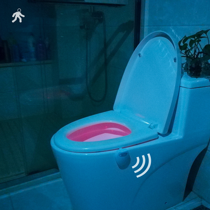 Sensor Light 1 Watt Lights Night Light Toilet Lights USB Charging 3.7 Volts Random Color Lednightlight Bathroom Home & Living