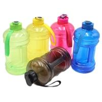 NEW 2.2L Large Capcity 1/2 Gallon Water Bottle Bpa Free Shaker Protein Plastic Sport Water Bottles Handgrip Gym Fitness Kettle